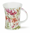 Dunoon Richmond Meadow Lane Red Mug