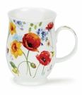 Dunoon Suffolk Country Garden Poppy Mug