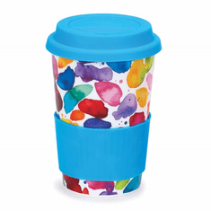 Dunoon Travel Mug Blobs Red
