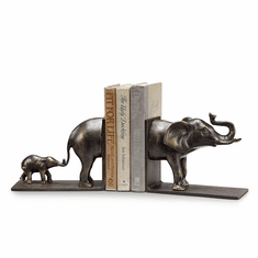 Elephant and Baby Bookends by SPI Home