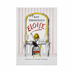 Eloise White Leather Bound Book
