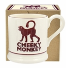 Emma Bridgewater Cheeky Monkey Mug Boxed