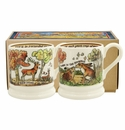 Emma Bridgewater In The Woods 1/2 Pint Mugs Boxed Set of 2
