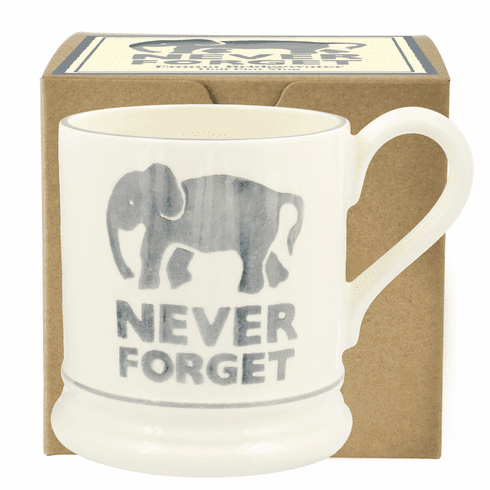 Emma Bridgewater Never Forget Mug Boxed