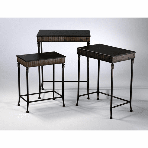 Empire Nesting Tables Set (3) by Cyan Design