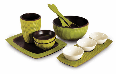Enrico Mango Wood Serveware - Save 40% on Color Collection