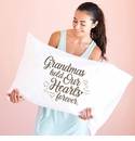 Faceplant Grandmas Hold Our Hearts Standard Pillow Case