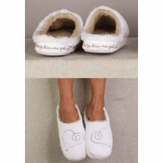 Faceplant Slippers - Always Kiss Me Goodnight Small