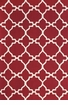 Feizy Cetara Red & White 2' x 3' Rug