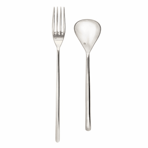 Fortessa Flatware Stainless Dragonfly 2pc Serve Set Boxed