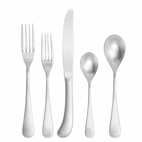 Fortessa Flatware Stainless Mariposa Brushed 20pc Place Setting Boxed
