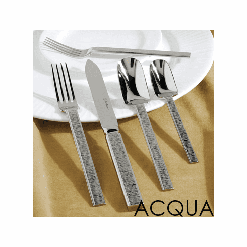 Fortessa Stainless Flatware Acqua 5 Piece Place Setting