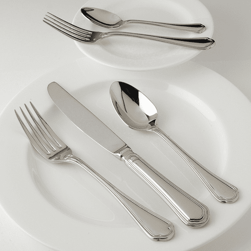 Fortessa Stainless Flatware Medici 5 Piece Place Setting