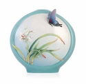 Franz Collection Boat Orchids Butter Vase
