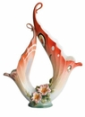 Franz Collection Butterfly Design Vase