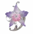 Franz Collection Cattleya Flower Pin