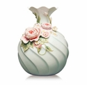 Franz Collection�Chinese�Rose Daisy Vase