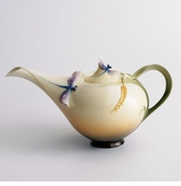 Franz Collection Dragonfly Teapot