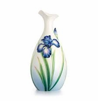 Franz Collection Eloquent Iris Mid-Sized Vase