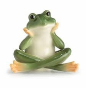 Franz Collection Frog Daydreaming Figure