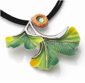 Franz Collection Ginkgo Necklace