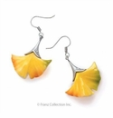 Franz Collection Ginkgo Pierced Earring