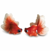 Franz Collection Goldfish Figures Set of 2