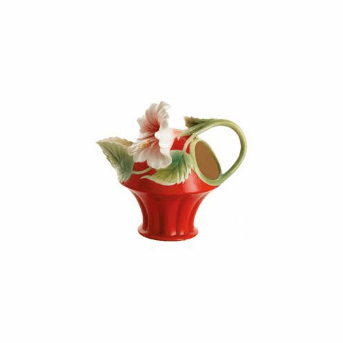 Franz Collection Island Beauty Hibiscus Creamer