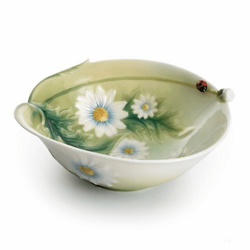 Franz Collection Ladybug Salad Bowl