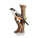 Franz Collection Long Tailed Shrike Vase
