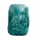 Jean Boggio for Franz Collection Luxe Turquoise Vase
