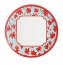 Jean Boggio for Franz Collection Maple Leaves Dinner Celedon Plate