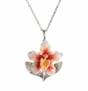 Franz Collection Orchid Necklace