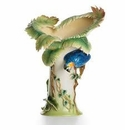 Franz Collection Parrot Limited Edition Vase