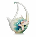 Franz Collection Peaceful Lotus Teapot