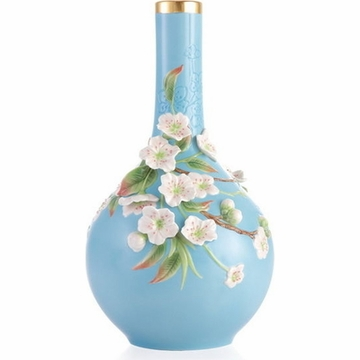 Franz Collection Pear Flower Limited Edition Vase