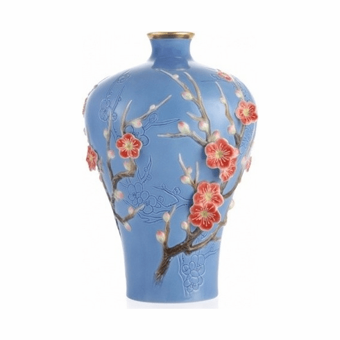 Franz Collection Plum Blossom Limited Edition Vase