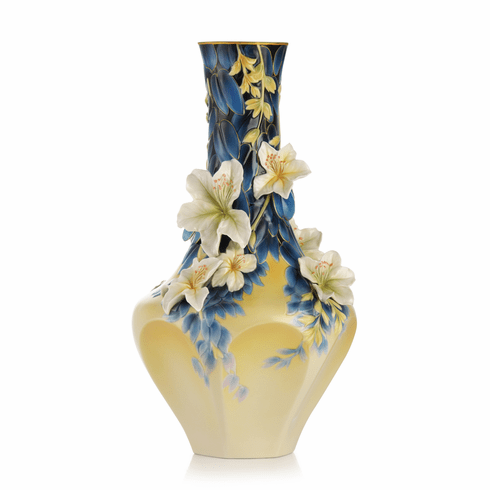 Franz Collection Porcelain Hong Kong Orchid Tree Vase (Limited Edition 2,000)