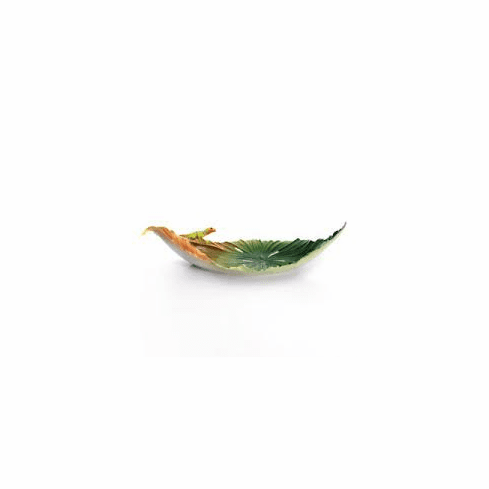 Franz Collection Rain Forest Lizard Dish