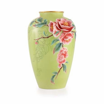 Franz Collection Rieger Begonias Limited Edition Vase
