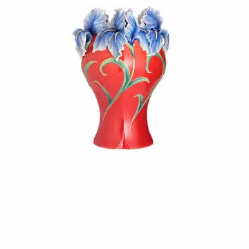 Franz Collection Royal Iris Limited Edition Vase