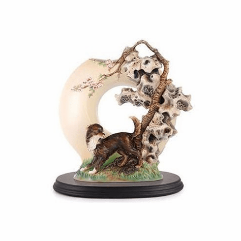 Franz Collection Shaggy Dog Limited Edition Vase