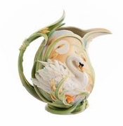Franz Collection Swan Pitcher