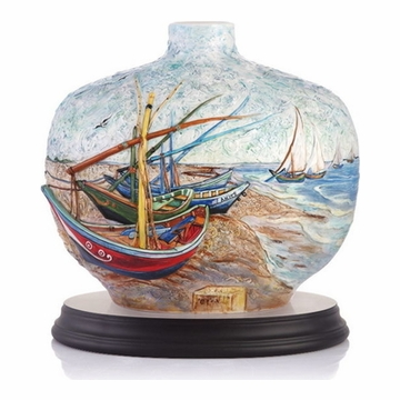 Franz Collection Van Gogh Sailing Limited Edition Vase