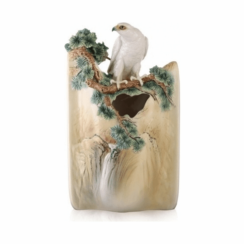 Franz Collection White Falcon Limited Edition Vase