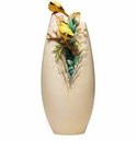 Franz Collection Yellow Oriole Vase