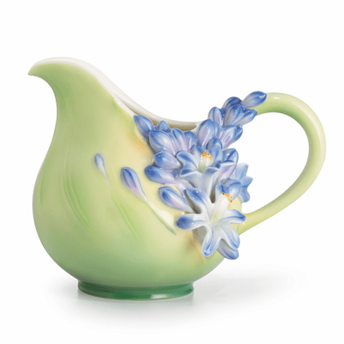 Franz Porcelain Collection Lily Of The Nile Flower Creamer