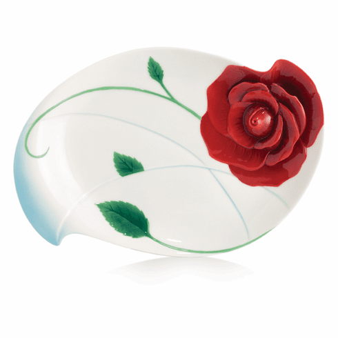 Franz Porcelain Collection Romance Of The Rose Dessert Plate