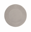 "GG Collection 11.5"" Stone Medallion Design Dinner Plates (4)"