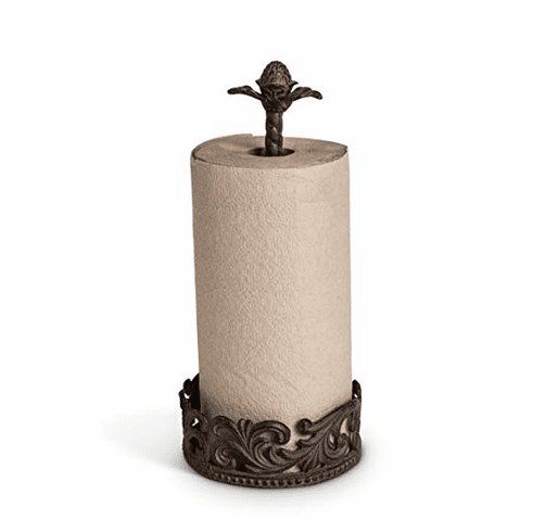 "GG Collection 14.5""H Acanthus Paper Towel Holder"